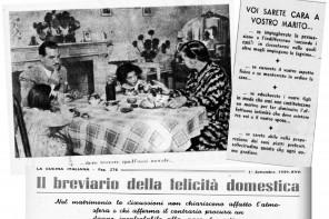1939 BREVIARIO DELLA FELICITÀ DOMESTICA