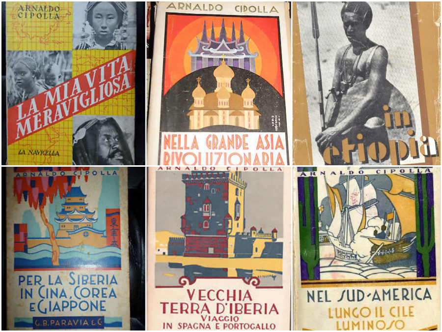 cipolla collage libri