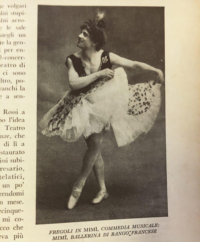 fregoli ballerina