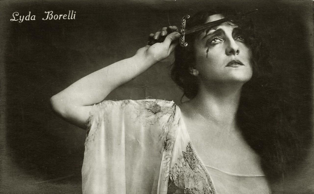 1915 pollo alla lyda borelli massaie moderne - Dive cinema muto ...
