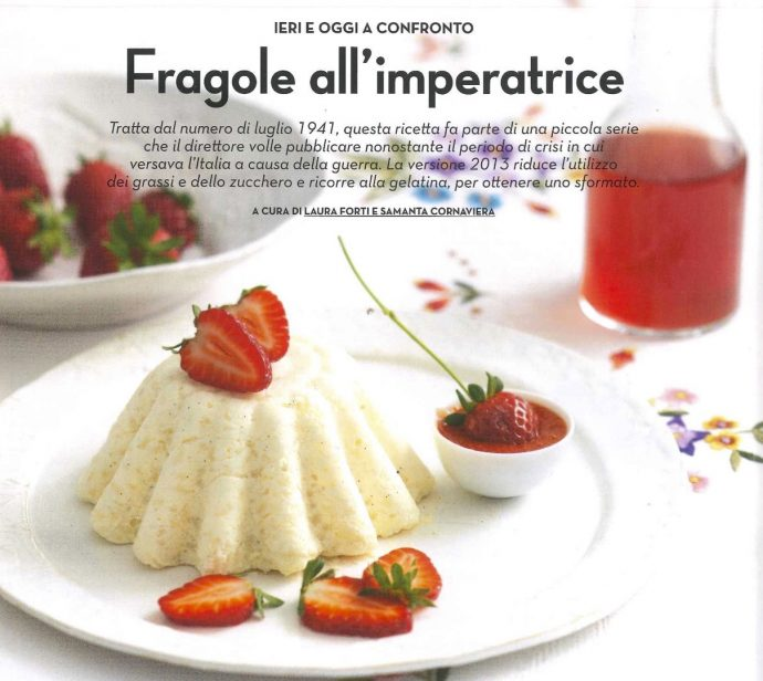 1941 Fragole All Imperatrice Massaie Moderne