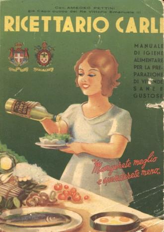 Ricettario Carli 1952